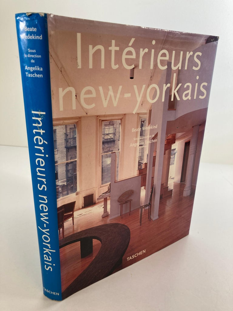 Interieurs New-Yorkais Hardcover Book by Angelika Taschen 1997 In Good Condition For Sale In North Hollywood, CA