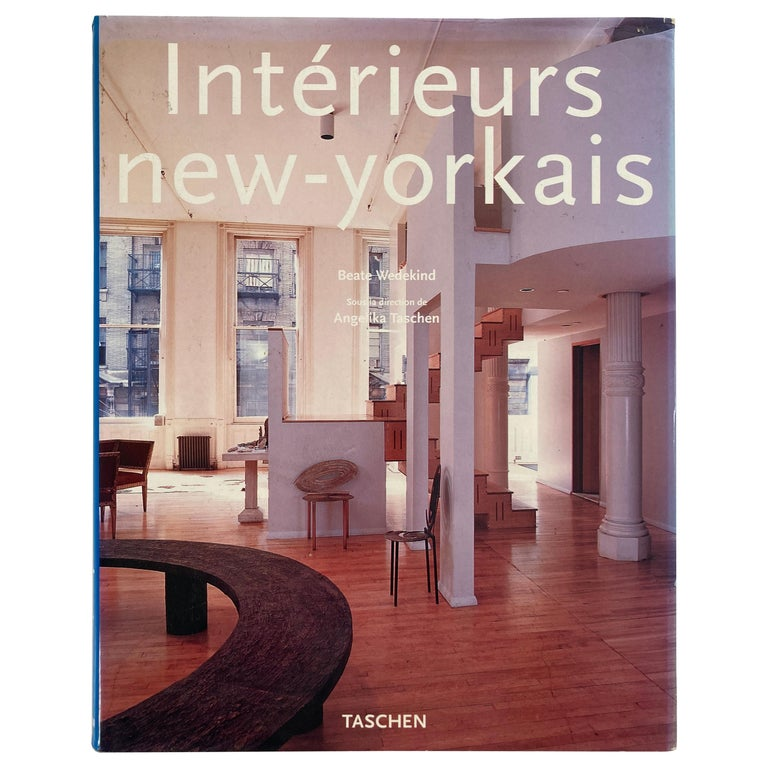 Interieurs New-Yorkais Hardcover Book by Angelika Taschen 1997 For Sale