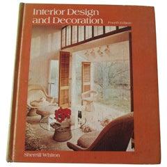 Interior Design and Decoration Hard Cover Book, Fourth Edition