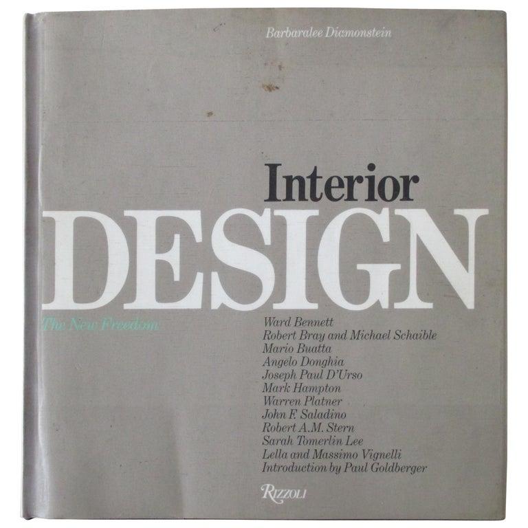 Interior Design Hardcover Book For Sale