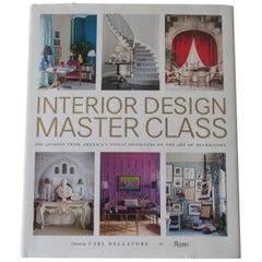 Interior Design Master Class Hard Cover Book
