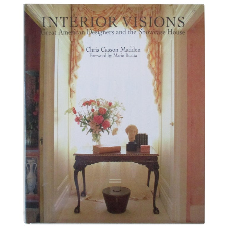 'Interior Visions Hardcover' Book For Sale