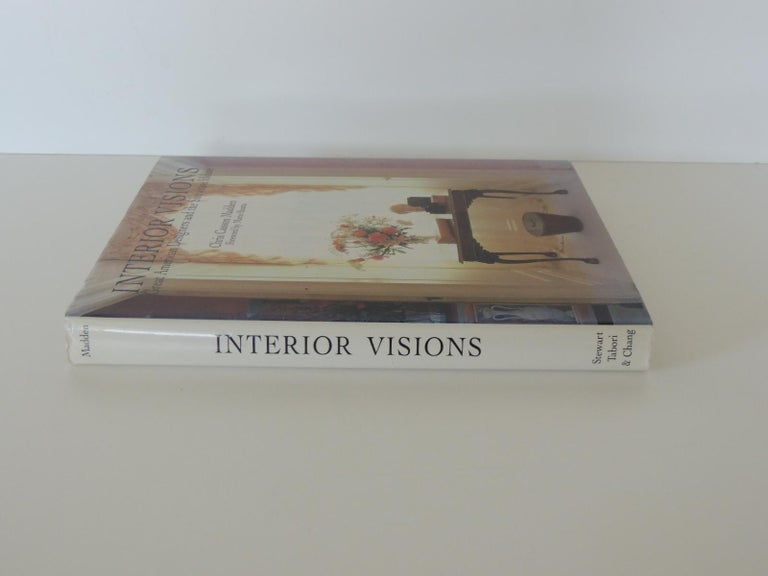 Interior visions vintage decorative hard-cover book: Great American Designers and the Showcase House by Chris Casson Madden Stewart, Tabori & Chang, New York, 1988