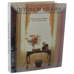 Interior Visions Vintage Decorative Hard-Cover Book