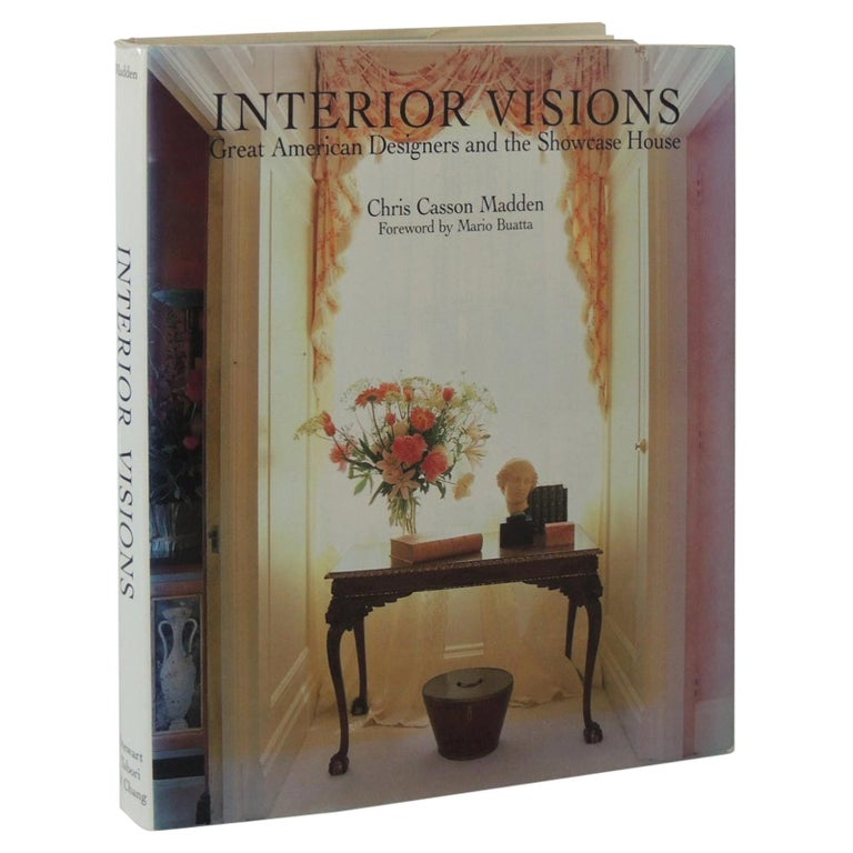 Interior Visions Vintage Decorative Hard-Cover Coffee Table Book For Sale