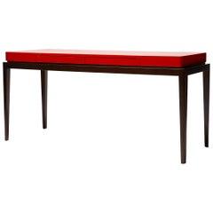 Interior Writing Desk, TARA by Reda Amalou, 2019, Lacquer Top, Walnut, 140cm