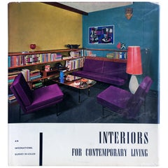 Interiors for Contemporary Living 1st Edition, 1960