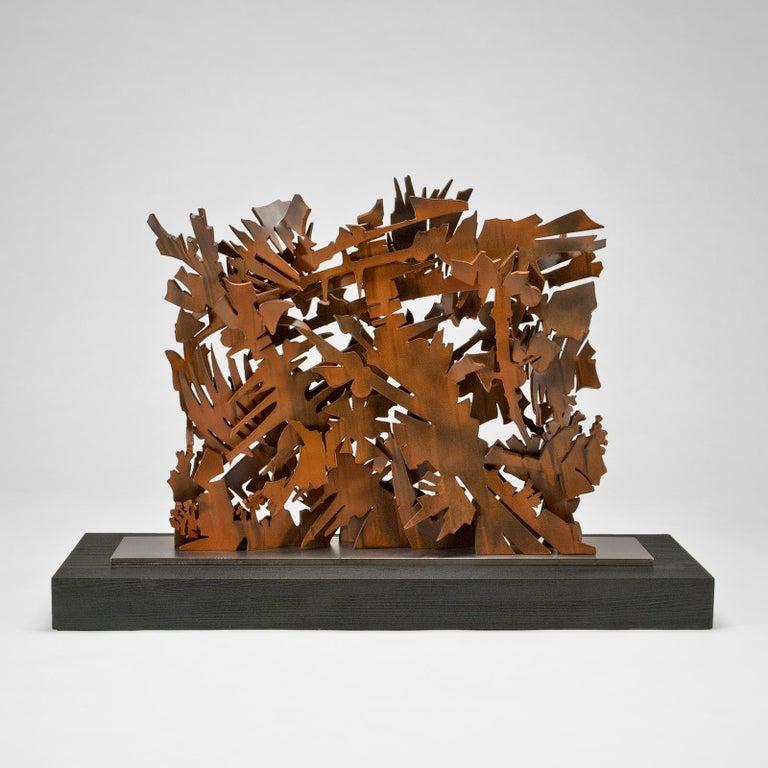 Modern Interlace, 2003 Sculpture by Albert Paley For Sale