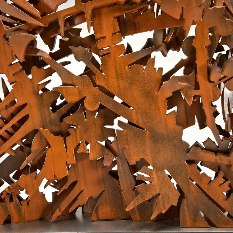 Interlace, 2003 Sculpture by Albert Paley In Excellent Condition For Sale In Denton, MD