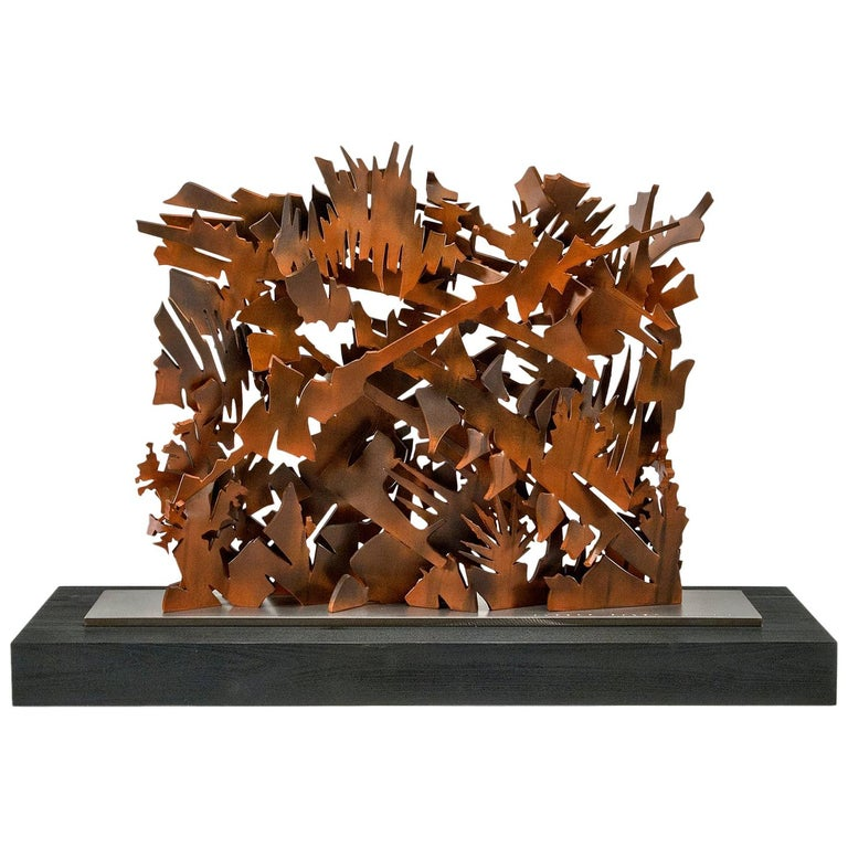 Interlace, 2003 Sculpture by Albert Paley For Sale