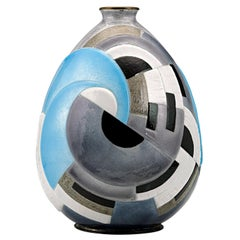 Interlocking Circles Vase by Camille Fauré