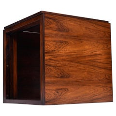 Interlocking Kai Kristiansen Danish Rosewood Cube Nesting Tables