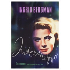 'Intermezzo' R1960 German A1 Film Poster