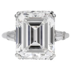 GIA Certified 2.50 Carat VVS2 E Color Emerald Cut Diamond