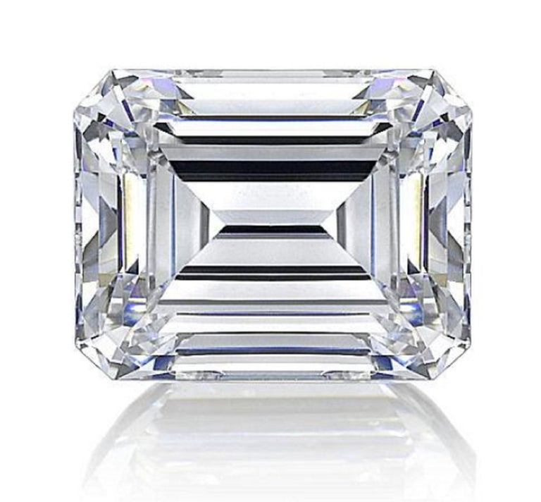 Modern GIA Certified 2.10 Carat Loose Diamond E Color Internally Flawless Clarity  For Sale