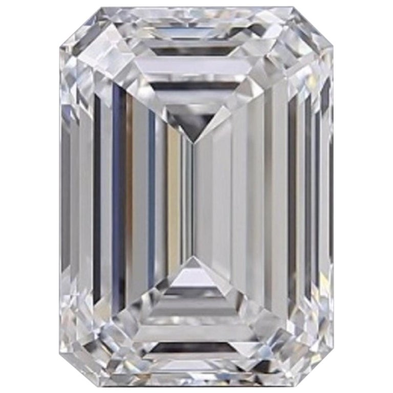 GIA Certified 2.10 Carat Loose Diamond E Color Internally Flawless Clarity  For Sale