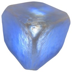 "Internally Lit Pop Art ""Ice Cube"" Occasional Table"