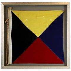 "International Code of Signals Flag ""Z"""