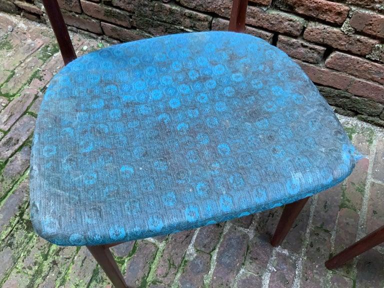 Johannes Andersen Teak Side Chairs For Sale 2