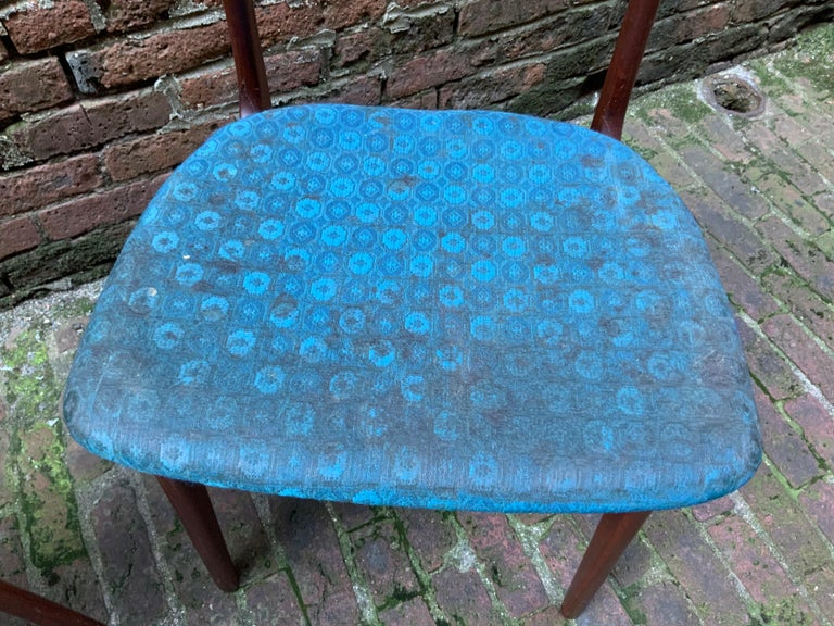 Johannes Andersen Teak Side Chairs For Sale 3