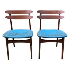 Johannes Andersen Teak Side Chairs