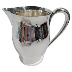 International Paul Revere Sterling Silver Water Pitcher