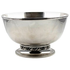 International Sterling La Paglia Designed Sterling Silver Bowl 139 35-1