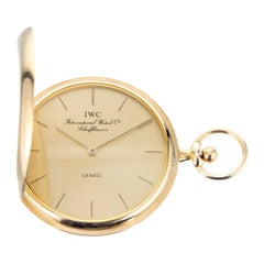 International Watch Company Gold Hunting Case Pocket Watch