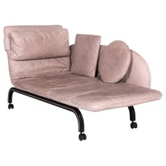 Interprofil Beo Anilin Leather Lounger Gray Relax Function