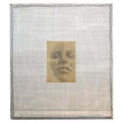 """Intimate"", Archival Pigment Print Mounted on Aluminum Intervened"