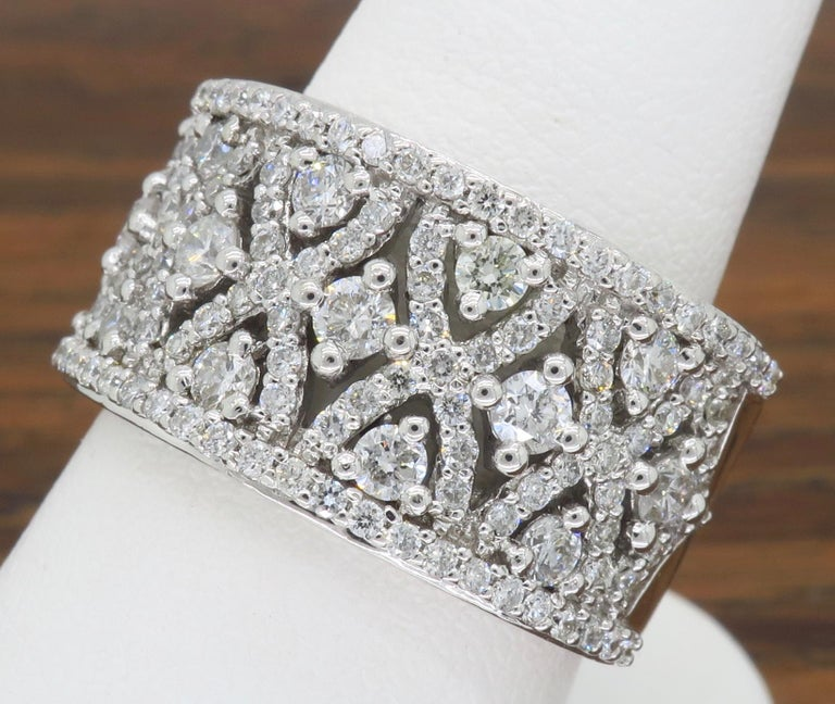 Intricate 1.50ctw Diamond Band For Sale 5