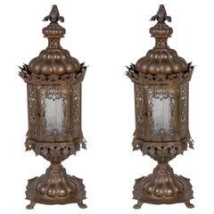 Intricate, 19th Century Venetian Lanterns