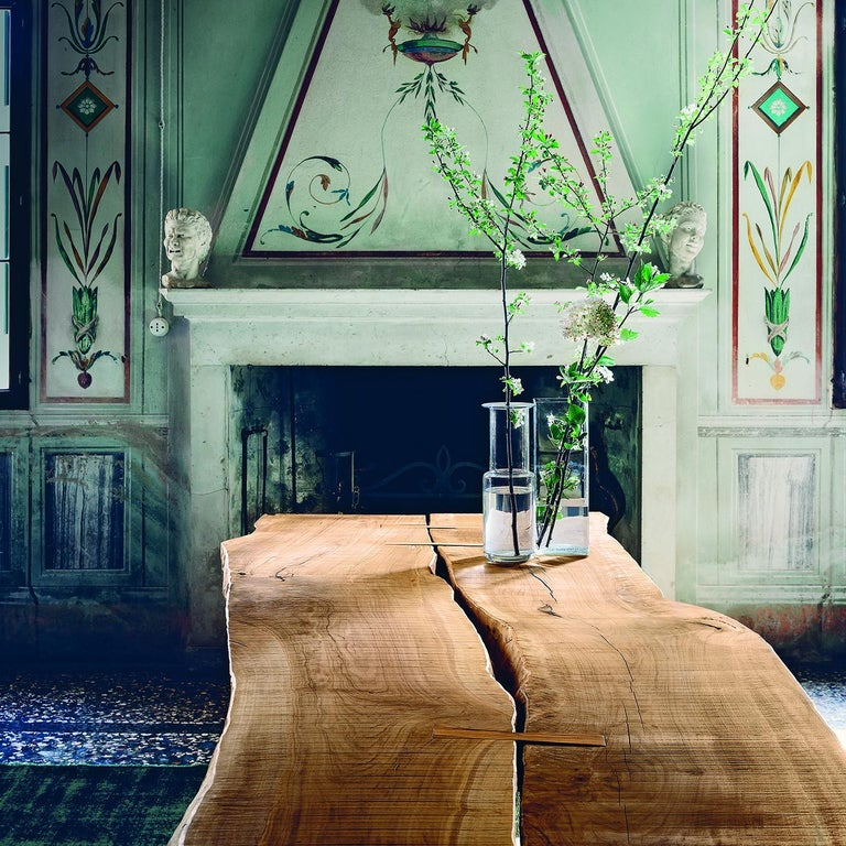 Inulivo Wood 2-Piece Dining Table In New Condition For Sale In Milan, IT