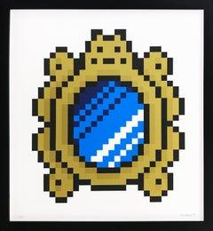 VERSAILLES MIRROR (BLUE)