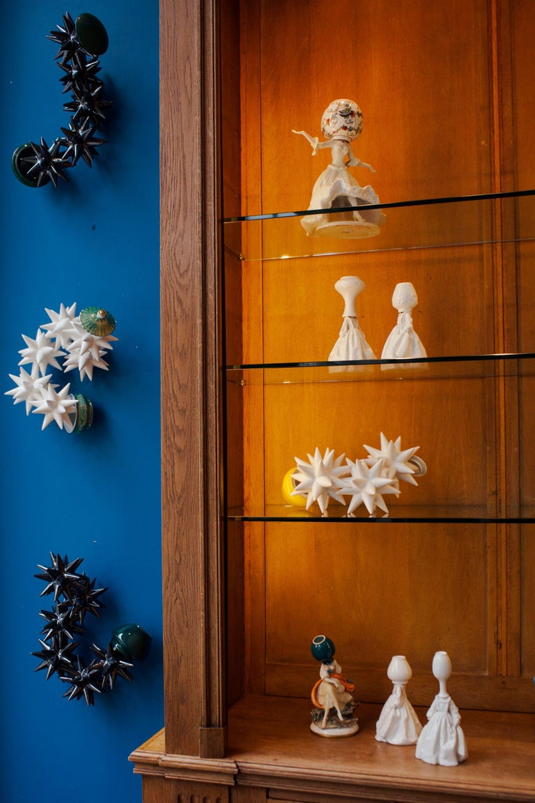 Invasata by Andrea Salvatori, White Ceramic Sculpture Italy Contemporary In New Condition For Sale In London, GB