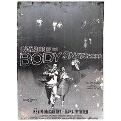 Invasion of the Body Snatchers, Black & White Movie Theatre Poster, 1956
