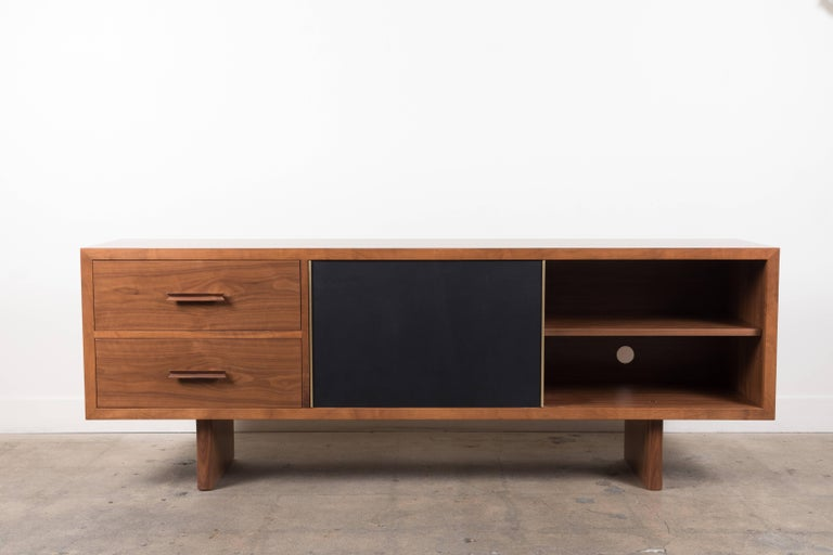 Inverness Media Cabinet by Lawson-Fenning In Excellent Condition For Sale In Los Angeles, CA