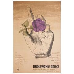 """""""Invincible Love"""" 1962 Polish A1 Film Poster"""