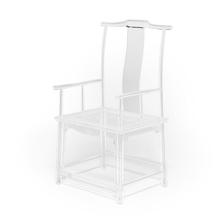 Ming Invisible Administrator's Chair by July Zhou For Sale