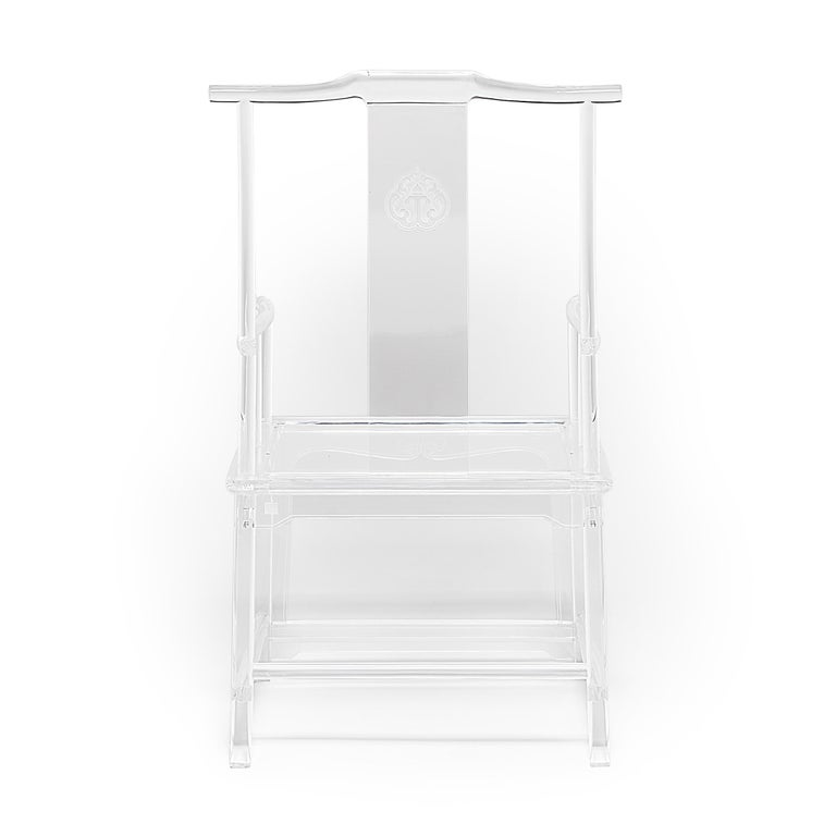 Chinese Invisible Administrator's Chair by July Zhou For Sale