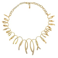 Io Si Diamond Gold Necklace