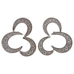 Io Si Gold Diamond Earrings
