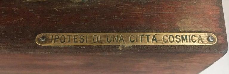 Italian Ipotesi di Una Citta' Cosmica, Scuplture, Italy, 1970s