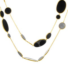 Ippolita 18 Karat Yellow Gold Rock Candy Onyx Necklace GN396NX
