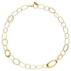 Ippolita Classico 18 Karat Gold Link Chain Necklace
