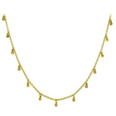 Ippolita Diamond Yellow Gold Chain Necklace