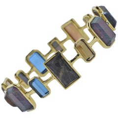 Ippolita Rock Candy Beverly Gemstone Gold Bracelet