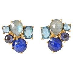 Ippolita Rock Candy Cluster Multigem Earrings
