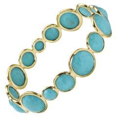 Ippolita Rock Candy Turquoise Station Bangle Bracelet