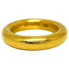 Ippolita Yellow Gold Comfort Fit Wedding Ring
